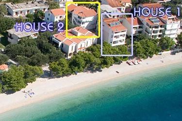 Chorwacja tanie kwatery nad morzem do wynajęcia luksusowe